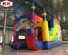 Special Discount For Inflatable Princess Bouncy Jumper slide House(China)