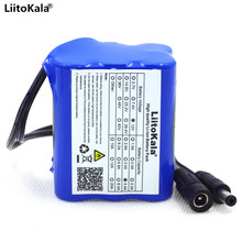 Liitokala 12V 4.4Ah 4400mah 18650 Rechargeable 12V Battery pack+ PCB Lithium Battery Protection Gasket(China)