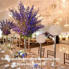 wholesale wedding crystal chandelier centerpieces for wedding table