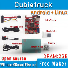 Cubietruck/Cubieboard3 allwinner A20 Dual-core ARM Cortex-A7 2G DDR 8GeMMC development board/ android/linux/Open source(China)