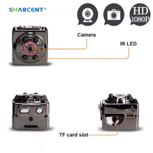 Mini Spied Camera 1080P Night Vision HD Infrared Nanny Digital Pinhole Secret Micro Cam Motion Detection Camcordor Record Helmet