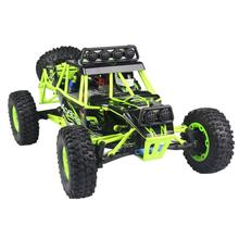 WL R/C Rock Crawler 1:12 Scale Radio Control Truck Off Road Climbing electric-drive cars RC toys for children #yh