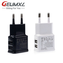 GEUMXL Phone Usb Charger 5V 2A EU Plug Wall Travel For Huawei P10 P9 P8 Lite/Samsung Galaxy J5 S7 S6 Edge A5 A3 2016 2017 S5 S4(China)