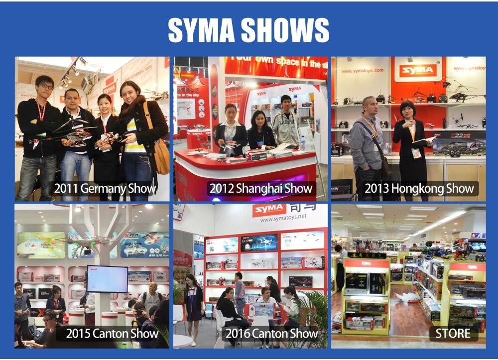 syma shows