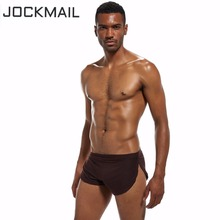 Buy JOCKMAIL Brand Men Underwear Boxer Shorts silk sexy penis pouch hombre panties Trunks cuecas Gay Underwear Home Sleepwear