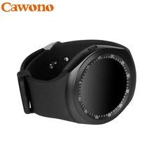 Cawono Y1 Smartwatch Bluetooth Smart Watch Reloj Relogio 2G GSM SIM App Sync Mp3 for Apple iPhone Xiaomi Android Phones PK DZ09(China)