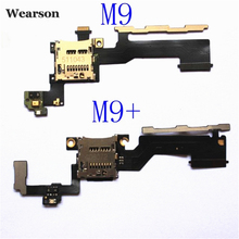 For HTC ONE M9 M9+ Power Button Volume Key Flex Cable Memory Card Slot FPC Tested Free Shipping With Tracking Number(China)