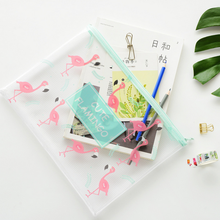 Lovely Bird A4 A5 B6 File Bag Document Bag Mini File Folder Stationery Filing Production School Office Supplies 003