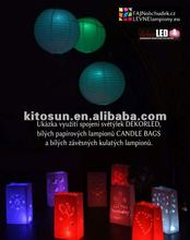 Free shipping!!! Wholesale Colorful Hanging Paper Lantern Led Light Chinese Paper Lantern Decor Light