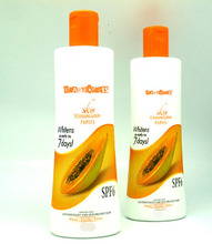 Real effect Skin Whitening Papaya Lotion Whitens as early as 7 days! Fairer Youthful Free Shipping(China)
