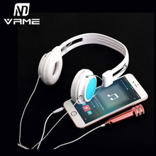 Vrme Fashion Headphone Portable k Song Mini Microphone Headset Universal KTV Karaoke Singing Song for iPhone 7 6s Xiaomi Samsung
