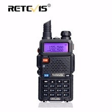Retevis RT-5R Walkie Talkie Radio VHF UHF 136-174&400-520MHz Handheld Transceiver Portable Ham Radio Communicator Walk Talk RT5R
