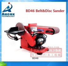 BD46 4''x6'' wood woodworking machine Belt Disc Sander with collector