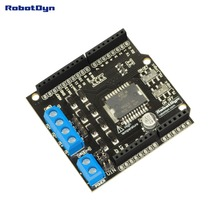 Motor Shield L298P, 2A, 2-motors for Arduino