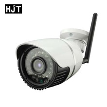 HJT HD 720P Micro SD Card Wireless Wifi IP Camera IR Night Vision Surveillance CCTV Outdoor Network P2P ONVIF Remote View H.264(China)