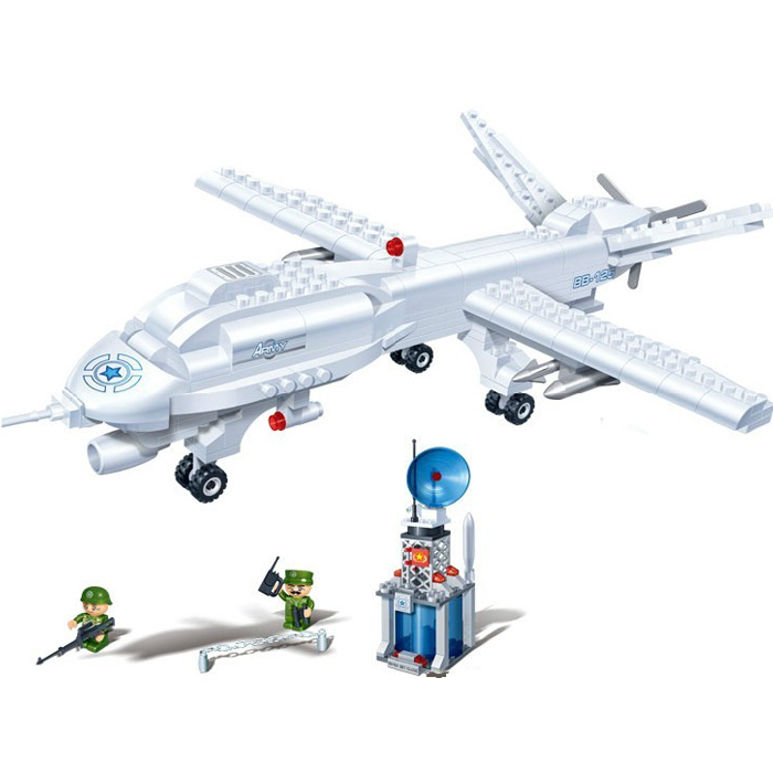 Banbao 6203 Military Series Aircraft Helicopter 308 pcs Plastic Building Block Sets Educational DIY Bricks Toys for children<br><br>Aliexpress