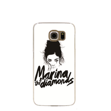 08682 Marina and the Diamonds cell phone case cover for Samsung Galaxy S7 edge PLUS S6 S5 S4 S3 MINI