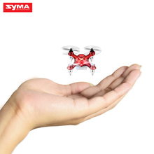 Hot Brand Syma 4CH 6-Axis Gyro X12S Remote Control Helicopter Drones Quadrocopter Pocket-size Dron Indoor Toys,White,Red Color(China)