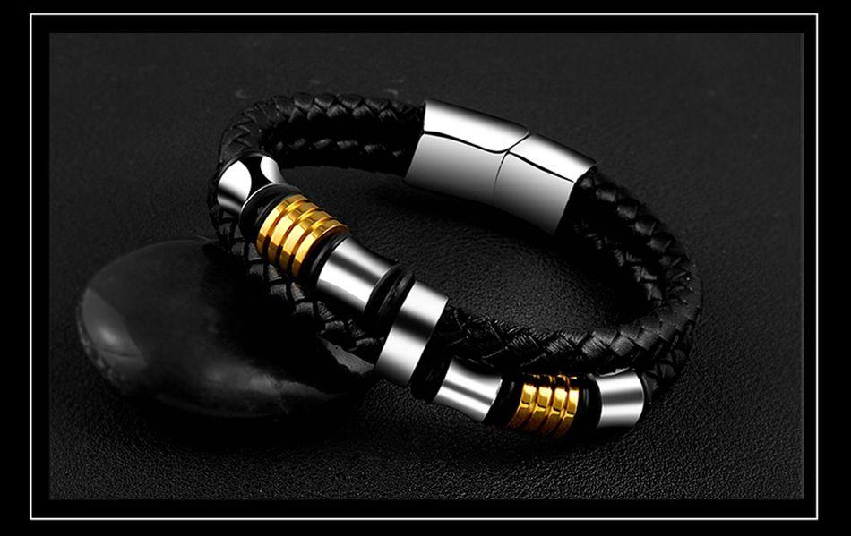 7-Leather Bracelet
