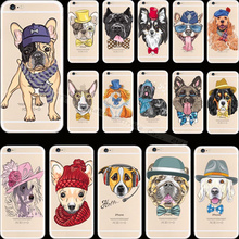 Funy Design Pattern Pretty Pet Silicon Phone Cover Cases For Apple iPhone 4 iPhone 4S iPhone4 iPhone4S Case Shell 2017 Newest