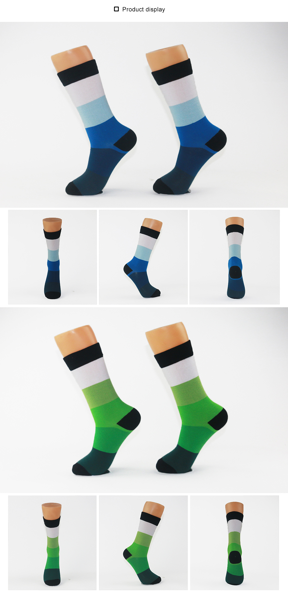 Striped Colorful Socks For Male