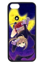 Fashion Anime Soul Eater Cover case for iphone 4 4s 5 5s 5c 6 6s plus samsung galaxy S3 S4 mini S5 S6 Note 2 3 4 z1541(China)
