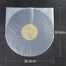 BRAND NEW 25pcs Antistatic Clear Protect Plastic 12'' LP LD Outer Sleeves Cover Vinyl Record Dustproof 30.8cmX30.6cm No seal