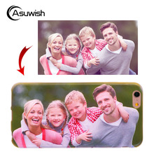 Asuwish Custom DIY Photo TPU Cover Silicone Phone Case For Sony Xperia XA Ultra XZ X Performance X Compact E3 E4 E4G E5 Dual