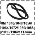 HTD8M1040-1112