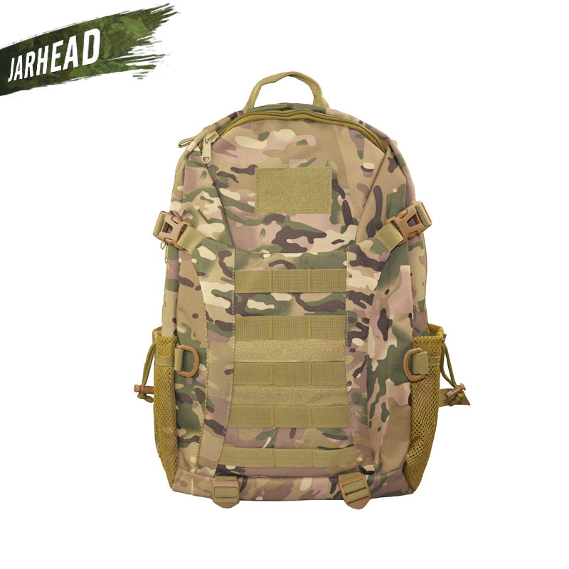 Outdoor Large Capacity Hiking Camping Bag Army Military Tactical Trekking Rucksack Nylon Climbing Backpack Camo Bag 9 Color<br>