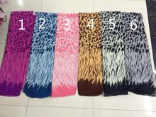 New Fashion Zebra And Leopard Print Scarf  Women Wraps Shawls Zebra Pattern Hijab Free Shipping