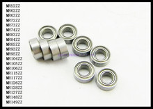 20pcs/Lot MR74ZZ  MR74 ZZ 4x7x2.5mm Thin Wall Deep Groove Ball Bearing Mini Ball Bearing Miniature Bearing Brand New
