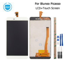 For BluBoo Picasso LCD Display+Touch Screen  Original Screen Digitizer Assembly Replacement For BluBoo Picasso Cell Phone+Tools