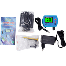 5pcs/lot by DHL Fedex Water Quality Monitor Online ORP temperature 3 in 1 pH tester meter Automatic temperature compensation(China)