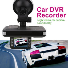 "2.0"" Display Car DVR Recorder Night Vision Camera Vehicle GPS Radar Detector"