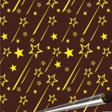 "meteor shower  chocolate transfer paper 10 sheets per pack chocolateria table 8.07 ""x 12.6"""