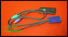 For HP KVM wire KVM server cable KVM switch connector cable VGA to RJ45+2XPS/2