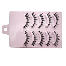 25 Pairs Beauty Supplies Bigeye Makeup Fake Lashes Mink Eye Lashes Extensions Tools Long Natural Black False Eyelashes For Women(China)