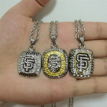 High Quality 2010 2012 2014 San Francisco Giants series championship pendants set,3pcs together(China)