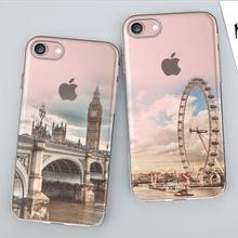Buy 1.2mm Soft Silicon Cover Case Apple iPhone 7 7S 7Plus Cases iPhone 7S Plus Phone Shell Protector Camera Painting Landscape for $2.07 in AliExpress store
