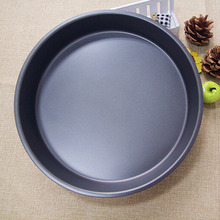 10 inch Pizza Pans 26*26*4cm Black Pizza Tray Baking Tools Nonstick Pizza Dish ustensiles patisserie