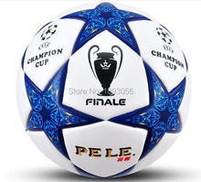 New PU Football Ball Adult Soccer Ball Size 5 High Quality Soccer Ball Outdoor Trainning 2 Colors