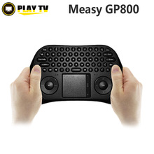 [Genuine]Measy Gp800 Air Mouse Wireless Mini Keyboard with Touchpad for Android Windows Smart TV Better Than i8 i8+