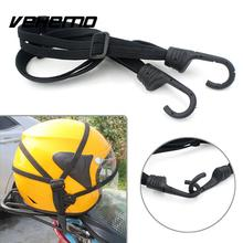 Vehemo Motorcycle Helmet Fixed Strap Elastic String Net Luggage Bag Rope Cable(China)