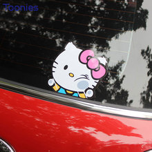 Cute Cartoon Film Car Sticker Auto Windows Cars Stickers Personality Climb Window Decal Car Styling Smart Fortwo Decoration Tape
