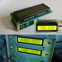 Dual Display LCD Multimeter Module Voltage Current Power Capacity Resistance Time Mete AH coulomb meter battery test