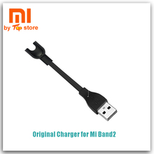 100% Original Xiaomi Xiomi Mi Band 2 Charger Charging Cable Gold-plated contacts easy carry Mini Portable Miband 2