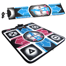 New USB HD Non-Slip Dancing Step Dance Mat Yoga Pad Pads Dancer Blanket Fitness Equipment Revolution Foot Print Mat For PC(China)