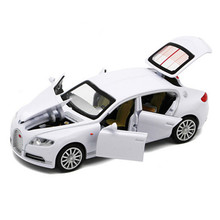 Brand New 1:32 Scale Model Cars White Bugatti Veyron Alloy Diecast Car Model Brinquedos Collection Pull Back Car Toys Gift