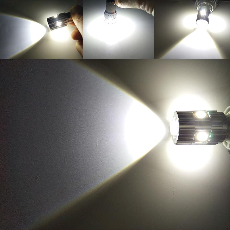 CNSUNNYLIGHT 2pcs 1156 LED BA15S P21W BAU15S PY21W S25 5Osram Chips 6000K White DRL Car Tail Fog Bulbs Brake Light Reverse Lamp (11)